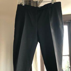 Prada Capri Black Dress Pants